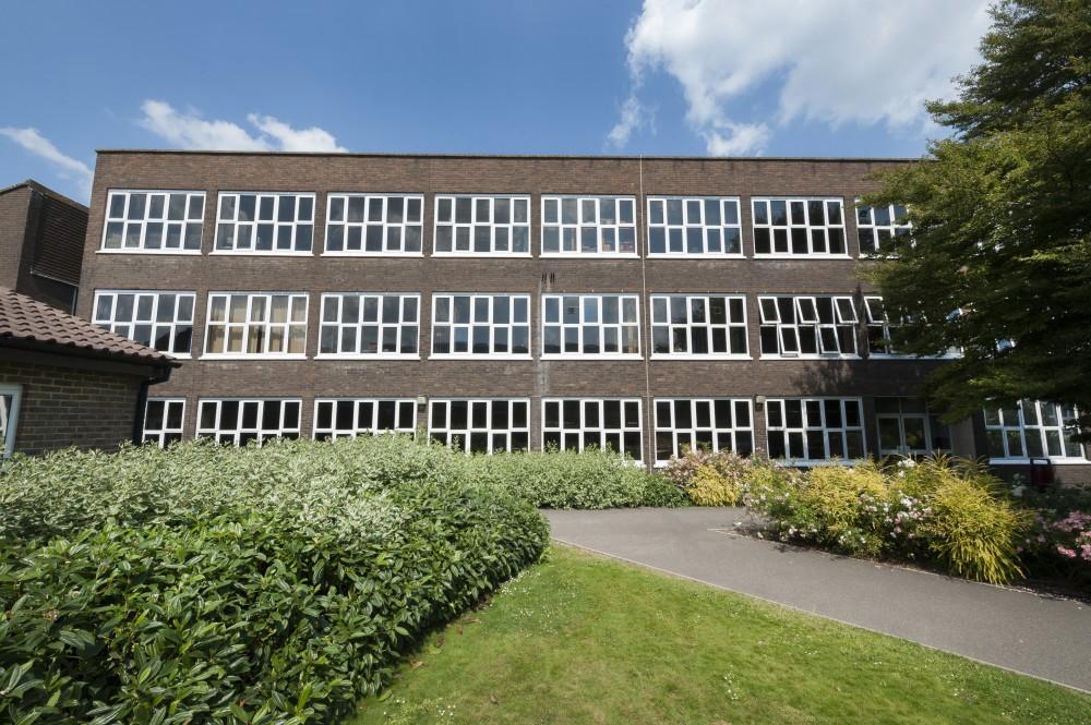 Refurbished John Hampden Grammar School High Wycombe