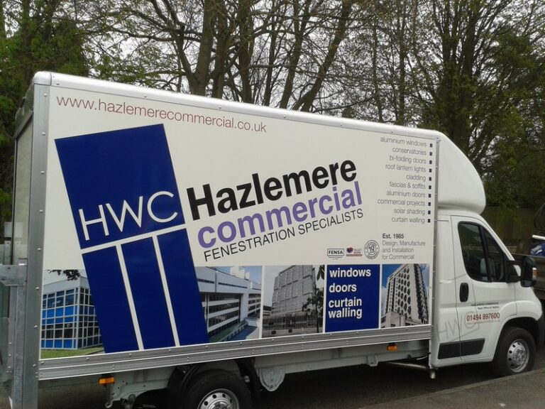 One of Hazlemere Commercial's Vans