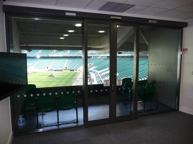 Inside IPF Box At Twickenham