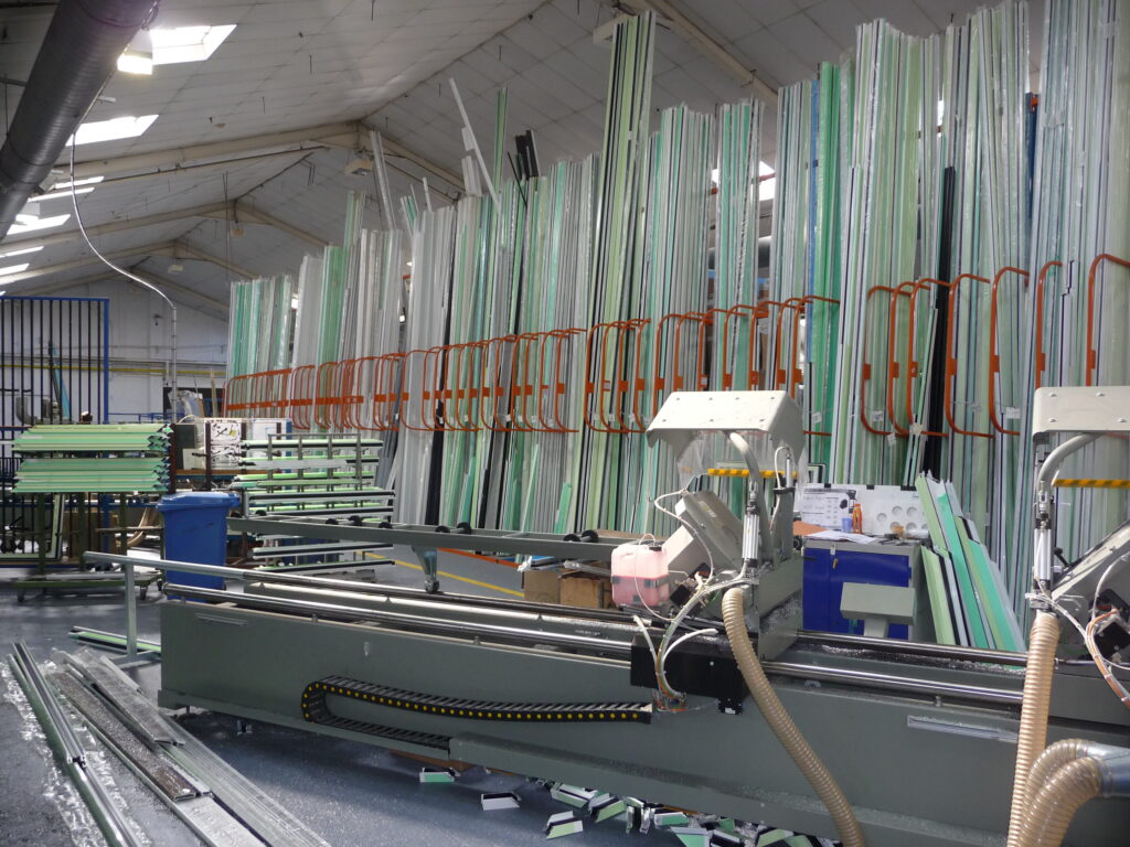 Internal shot of part of Hazlemere Commercial's factory