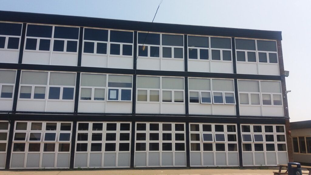 Part Of Burnham Grammar School